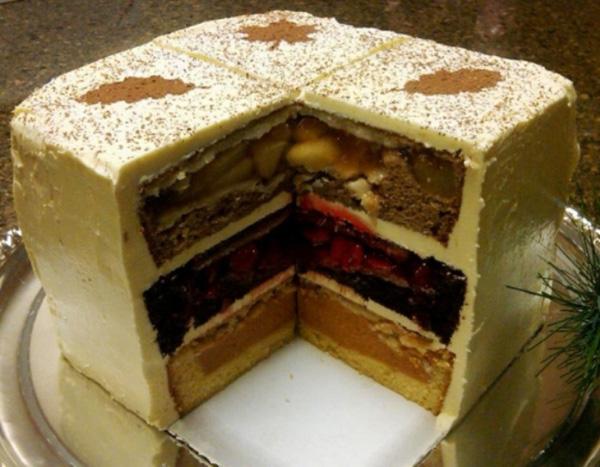 необычные торты рецепты с фото