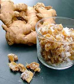 Цукаты из имбиря – универсальная  «таблетка» от простуды
