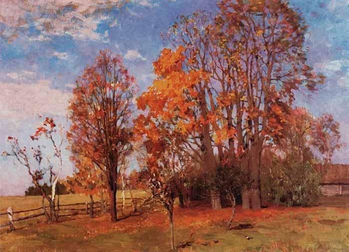 И. Левитан «Осень»