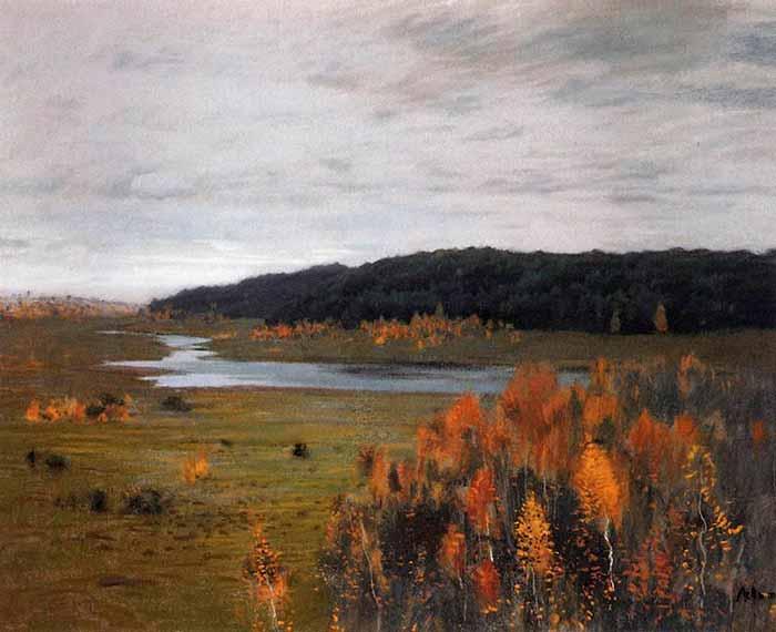 И. Левитан «Долина реки»