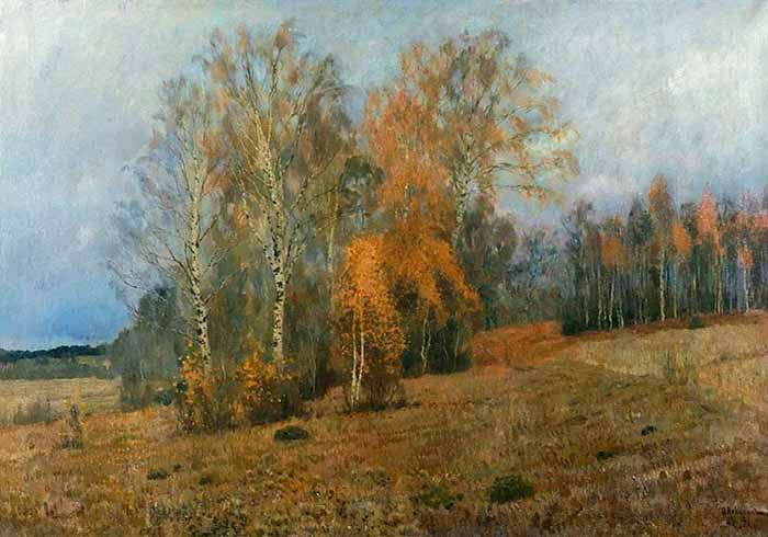 И. Левитан «Октябрь (Осень)»