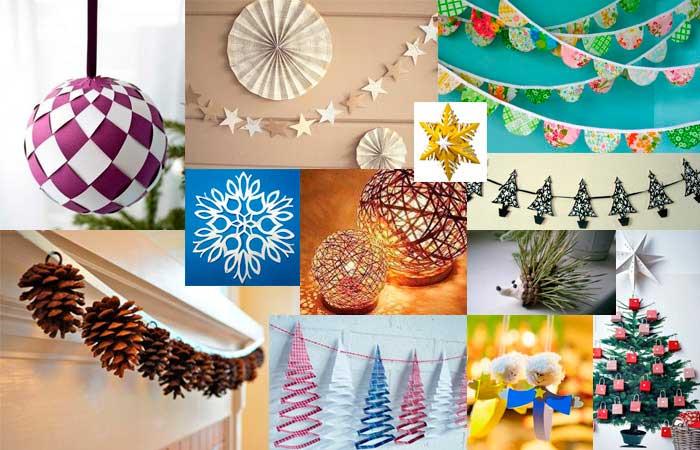 Идеи оформления к новому году фото