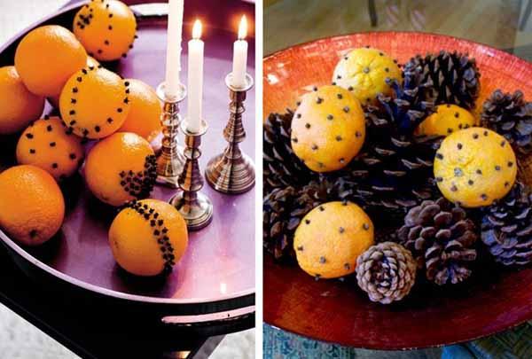 Украшения на новый год своими руками из апельсиновых корок