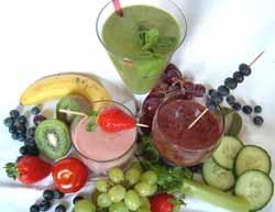 Летние рецепты смузи для похудения