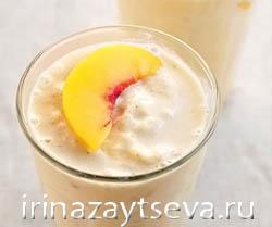 Смузи из персика - лучик солнца в вашем бокале