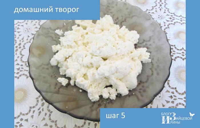 Как сделать творог из молока в домашних условиях рецепт