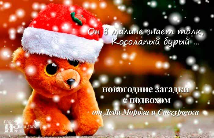 Новогодние загадки с подвохом от Деда Мороза