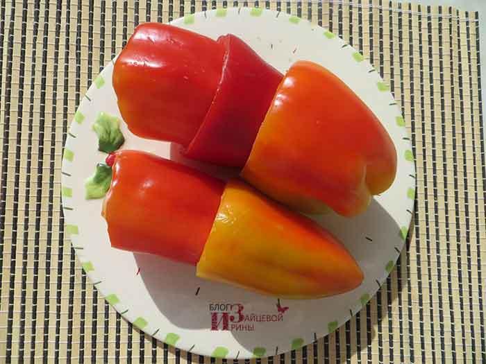 Заморозка перцев фаршированных на зиму в домашних условиях 67