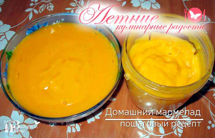 домашний мармелад из абрикосов фото 4