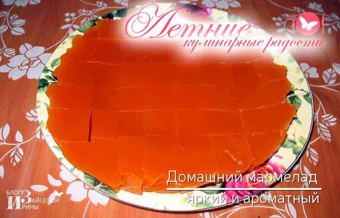 домашний мармелад из абрикосов фото 7