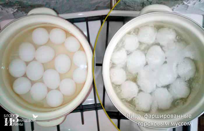 Фаршированные яйца фото 3
