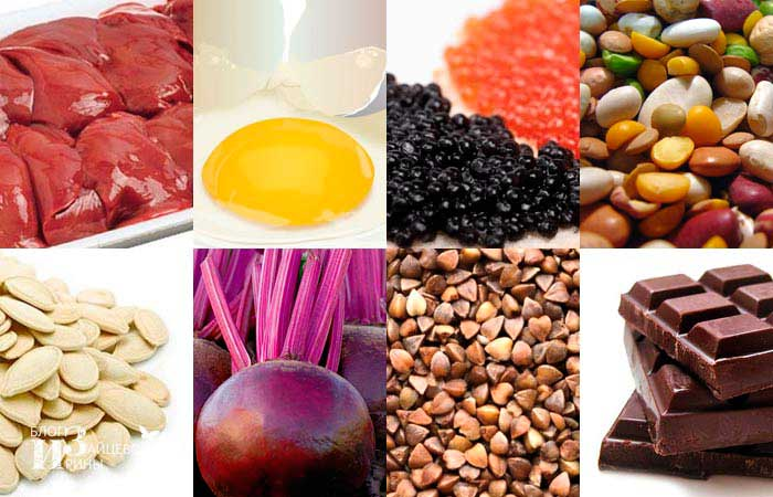 какая диета при повышенном гемоглобине