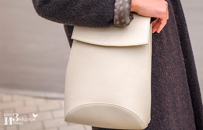 кожаный рюкзак женский 5