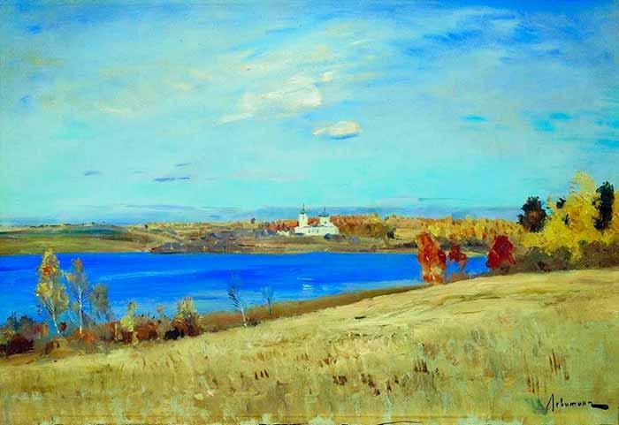И. Левитан «Осень. Река»
