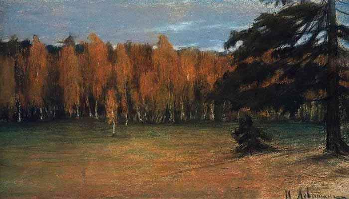 И. Левитан «Осенний пейзаж»