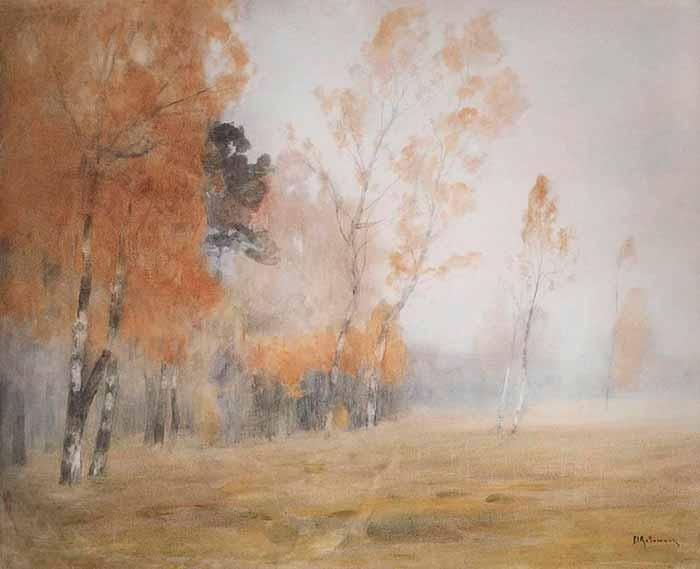 И. Левитан «Осень. Туман»