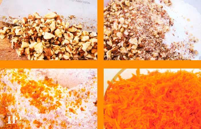 морковный пирог шаг 2