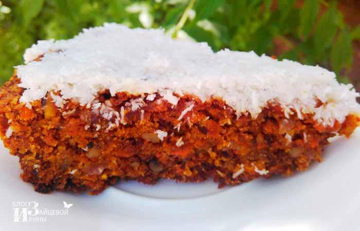 Морковный пирог шаг 4