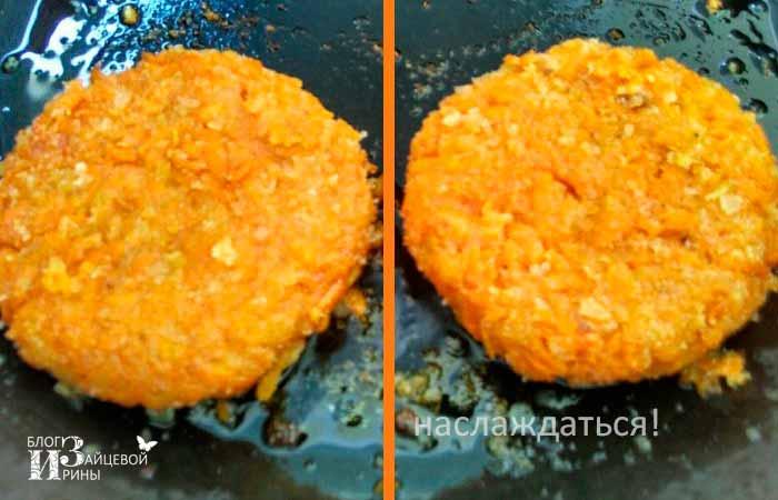 Морковные котлеты пошаговое фото 4