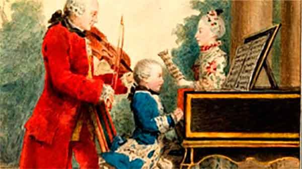 Картинки по запросу картинки дети и моцарт
