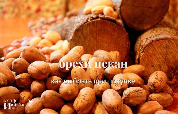 как выбрать орехи пекан