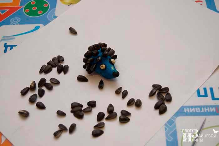поделки из семян