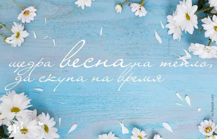 пословицы о весне для школьников