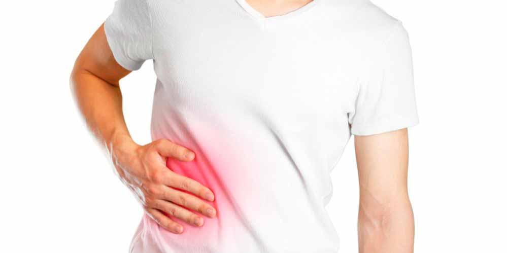 Боль в правом боку – симптомы и лечение
