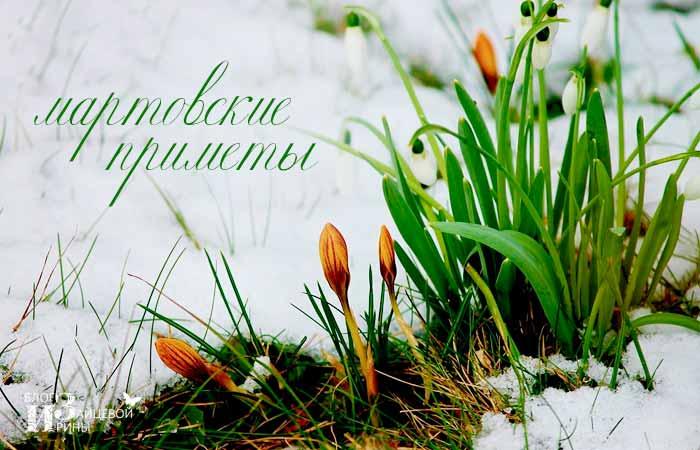 народные приметы о весне