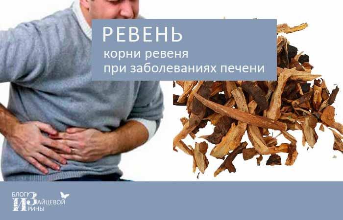 ревень при заболеваниях печени