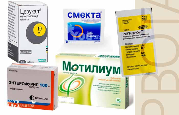 Лекарства от рвоты у детей