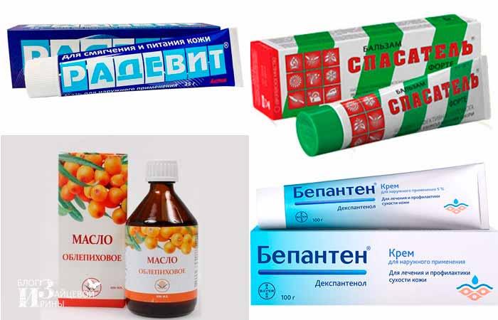 Аптечные средства от шелушения