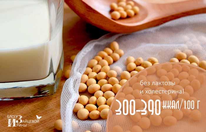 калорийность соевой спаржи