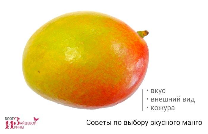 Советы по выбору вкусного манго
