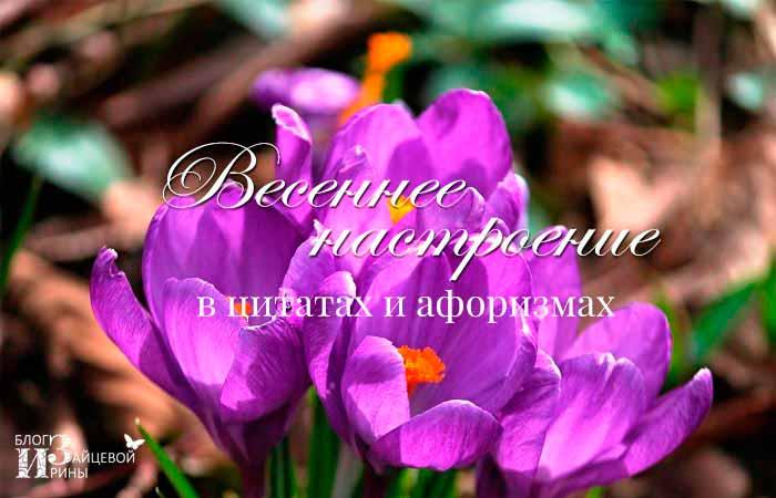 цитаты о весне